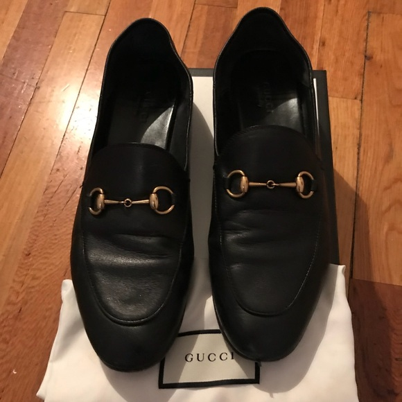 d2791ebf9 Gucci Shoes | Black Convertible Brixton Loafers | Poshmark